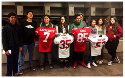Mentor Program at Levi Stadium